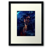Moonlit Captain Hook Framed Print