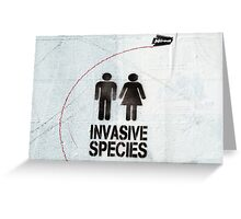 The Invaders Greeting Card
