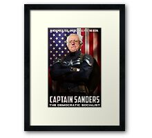 Captain Sanders Framed Print