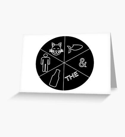 Catfish And The Bottlemen Design Greeting Card