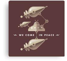 Space Invasion Canvas Print