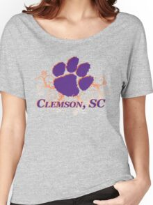 Clemson Swirl Women's Relaxed Fit T-Shirt