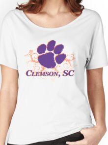 Clemson Swirl Women's Relaxed Fit T-Shirt