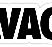 SAVAGE - (Black) Sticker