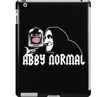 Abby Normal iPad Case/Skin