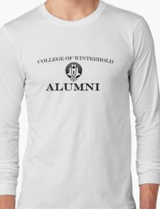 College of Winterhold Alumni Long Sleeve T-Shirt