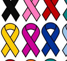 Cancer Ribbons - Cancer Awareness Sticker