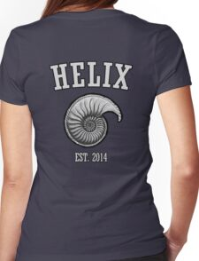 Praise Helix. Womens Fitted T-Shirt