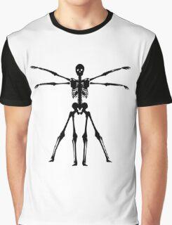 Skeletal Vitruvian  Graphic T-Shirt