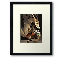 Bossfight Framed Print
