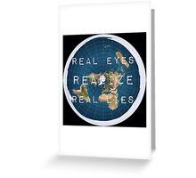 Flat earth flat is fact Greeting Card