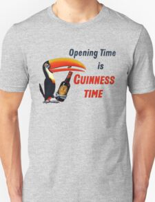 GUINNESS OPENING TIME IS GUINNESS TIME T-Shirt