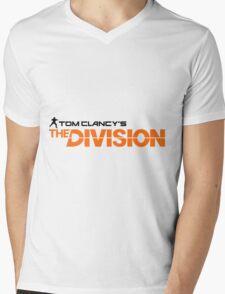 The Division logo Mens V-Neck T-Shirt