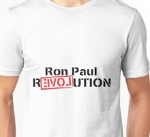 Ron Paul Revolution Love Logo Unisex T-Shirt