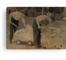 daddies 1957 Canvas Print