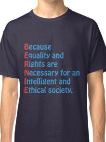 Bernie Sanders - Acronym Classic T-Shirt
