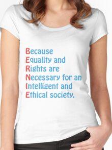 Bernie Sanders - Acronym Women's Fitted Scoop T-Shirt