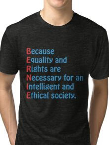 Bernie Sanders - Acronym Tri-blend T-Shirt