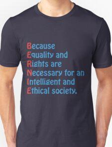 Bernie Sanders - Acronym Unisex T-Shirt