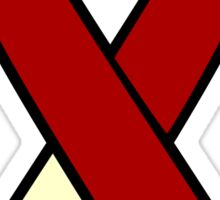 Head and Neck Cancer Ribbon Sticker