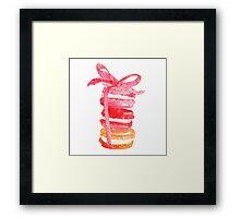 Macaroons {gift} Framed Print