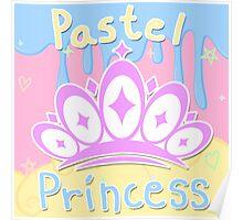 Pastel Princess Poster