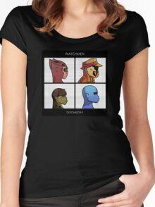 Watchmen - Doomsday Women's Fitted Scoop T-Shirt