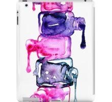 Nails polish { colours } #watercolor iPad Case/Skin