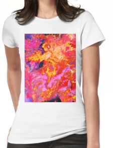 Abstract 43 Womens Fitted T-Shirt