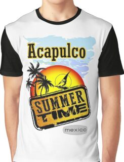 Acapulco, Summer  Graphic T-Shirt