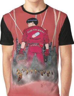 Kaneda in front neo Tokyo Graphic T-Shirt