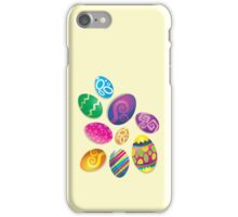 Many Easter eggs  iPhone Case/Skin