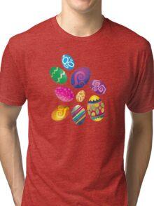 Many Easter eggs  Tri-blend T-Shirt