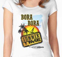 Bora Bora Women's Fitted Scoop T-Shirt