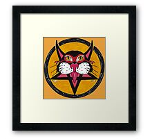 Kittie 666 Framed Print