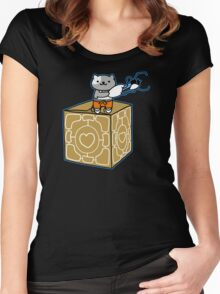 Portal Atsume Women's Fitted Scoop T-Shirt