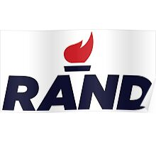 Rand Paul 2016 Presidential Campaign Logo Poster