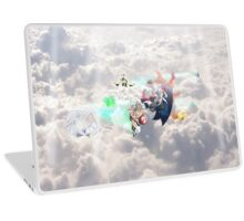 Brawl in the heaven Laptop Skin