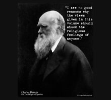 Charles Darwin OOS religious feelings quote 3 Unisex T-Shirt