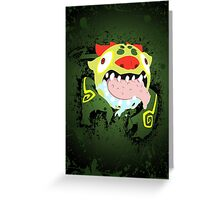 Behemoth Splatter Greeting Card