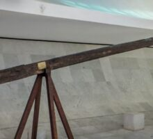 Historic cross of the first mass in the Cathedral of Brasília Sticker