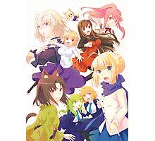 Kara No Kyouka Anime Crossover Photographic Print