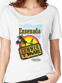 Ensenada, Mexico Women's Relaxed Fit T-Shirt