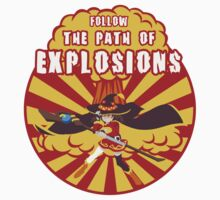Path of Explosions One Piece - Long Sleeve