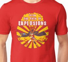 Path of Explosions Unisex T-Shirt