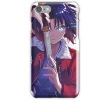 Sharp Eyes and dagger iPhone Case/Skin