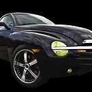 Chevrolet SS-R on Black Velvet by ChasSinklier