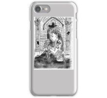 dame and the dragon iPhone Case/Skin