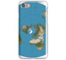 Flat earth time for change iPhone Case/Skin