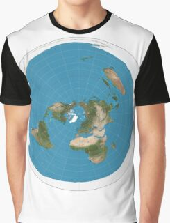 Flat earth time for change Graphic T-Shirt